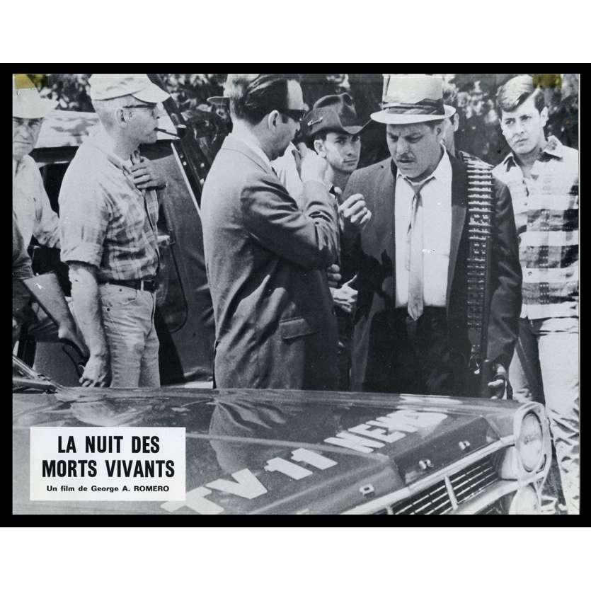 NIGHT OF THE LIVING DEAD French Lobby card N8 9x12 - 1968 - George A. Romero, Duane Jones
