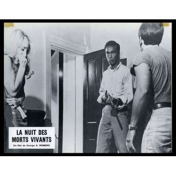 NIGHT OF THE LIVING DEAD French Lobby card N5 9x12 - 1968 - George A. Romero, Duane Jones