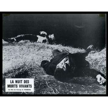 NIGHT OF THE LIVING DEAD French Lobby card N3 9x12 - 1968 - George A. Romero, Duane Jones