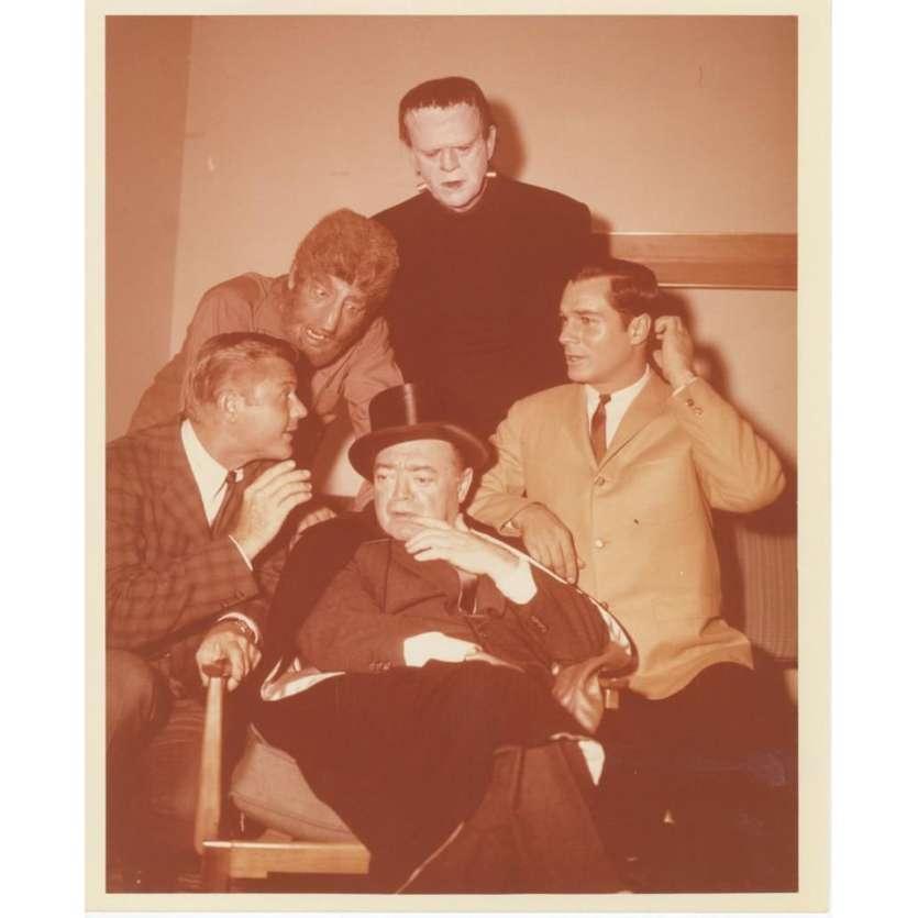 ROUTE 66 Photo de presse 20x25 - 1962 - Boris Karloff, Herbert B. Leonard