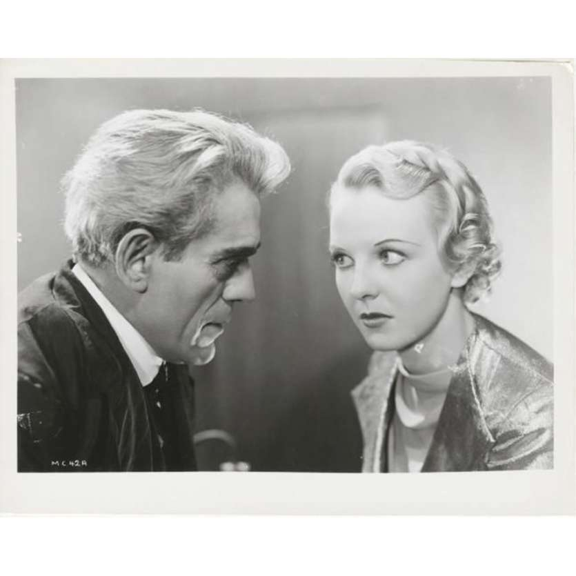 CERVEAUX DE RECHANGE Photo de presse N2 20x25 - R1970 - Boris Karloff, Robert Stevenson