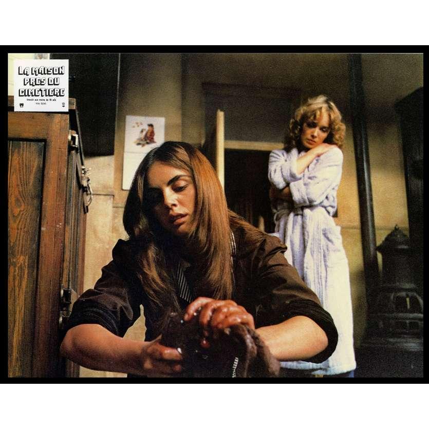 LA MAISON PRES DU CIMETIERE Photo de film N3 21x30 - 1981 - Catriona McColl, Lucio Fulci