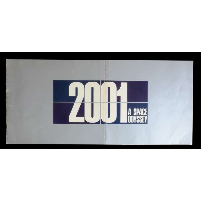 2001 L'ODYSSEE DE L'ESPACE Programme Souvenir - 1968 - Keir Dullea, Stanley Kubrick