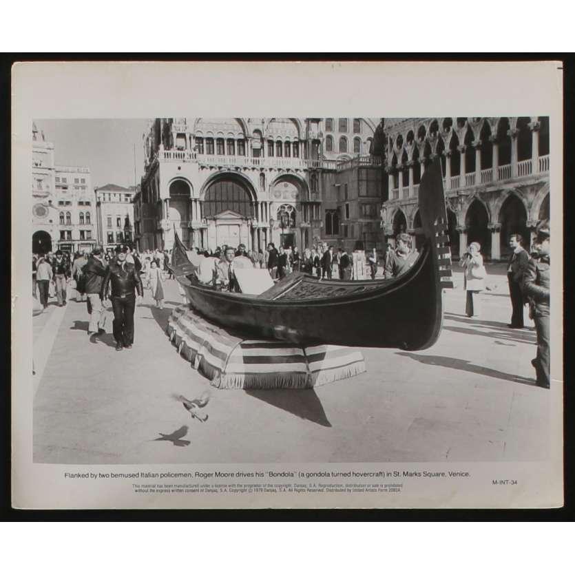 MOONRAKER Photo de presse N4 20x25 - 1979 - Roger Moore, James Bond