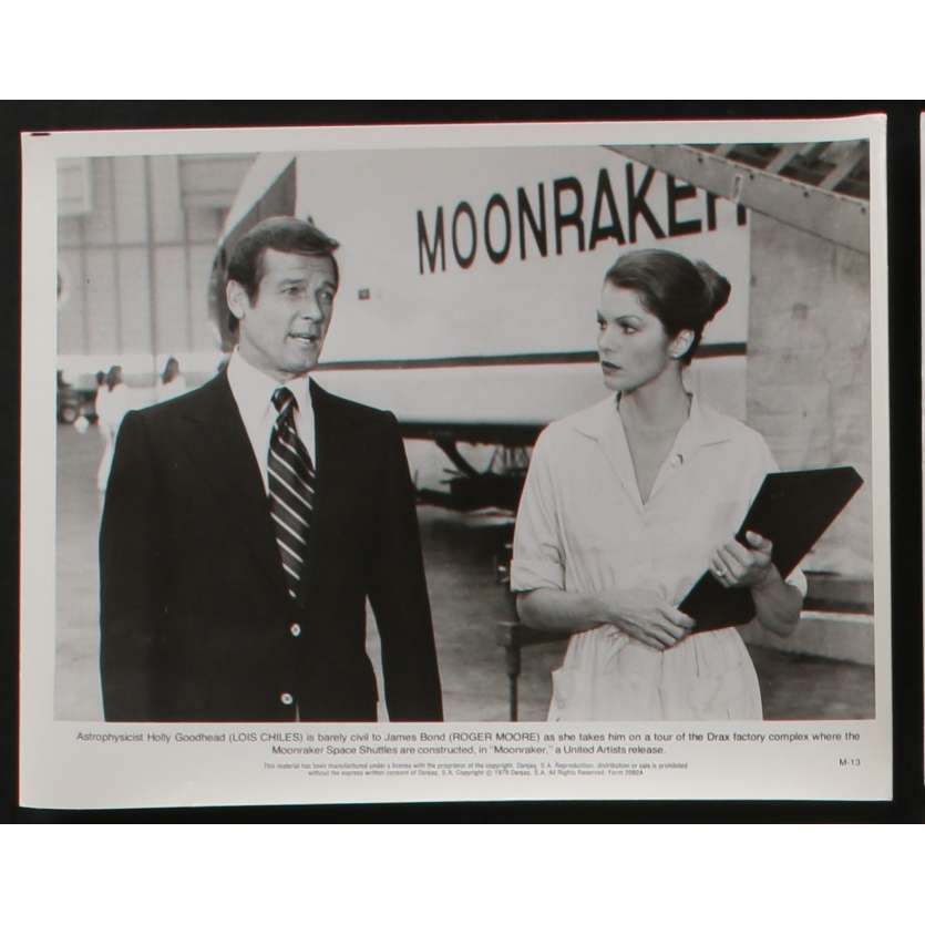 MOONRAKER US Movie Still N1 8x10 - 1979 - James Bond, Roger Moore