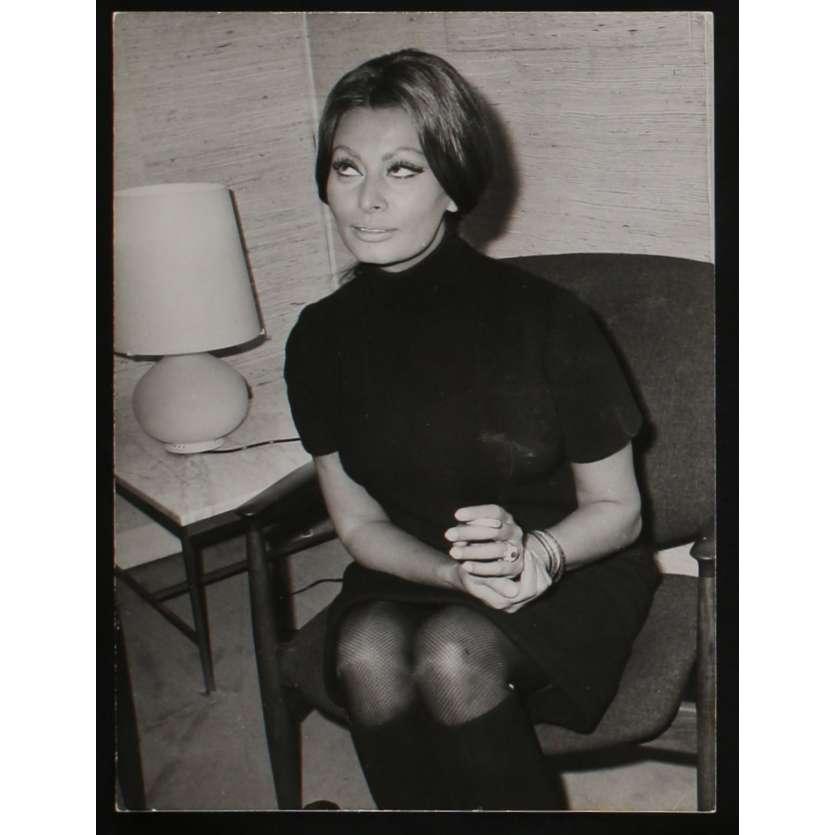 SOPHIA LOREN Photo de presse N2 20x25 - 1968 - SOPHIA LOREN,