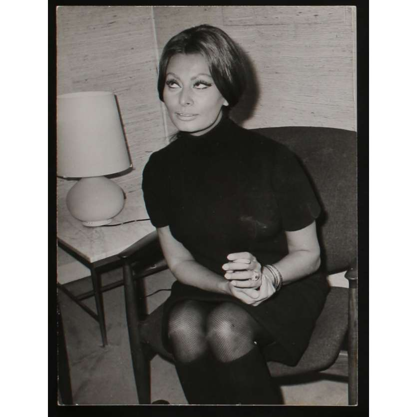 SOPHIA LOREN US Movie Still N2 8x10 - 1968 - , SOPHIA LOREN