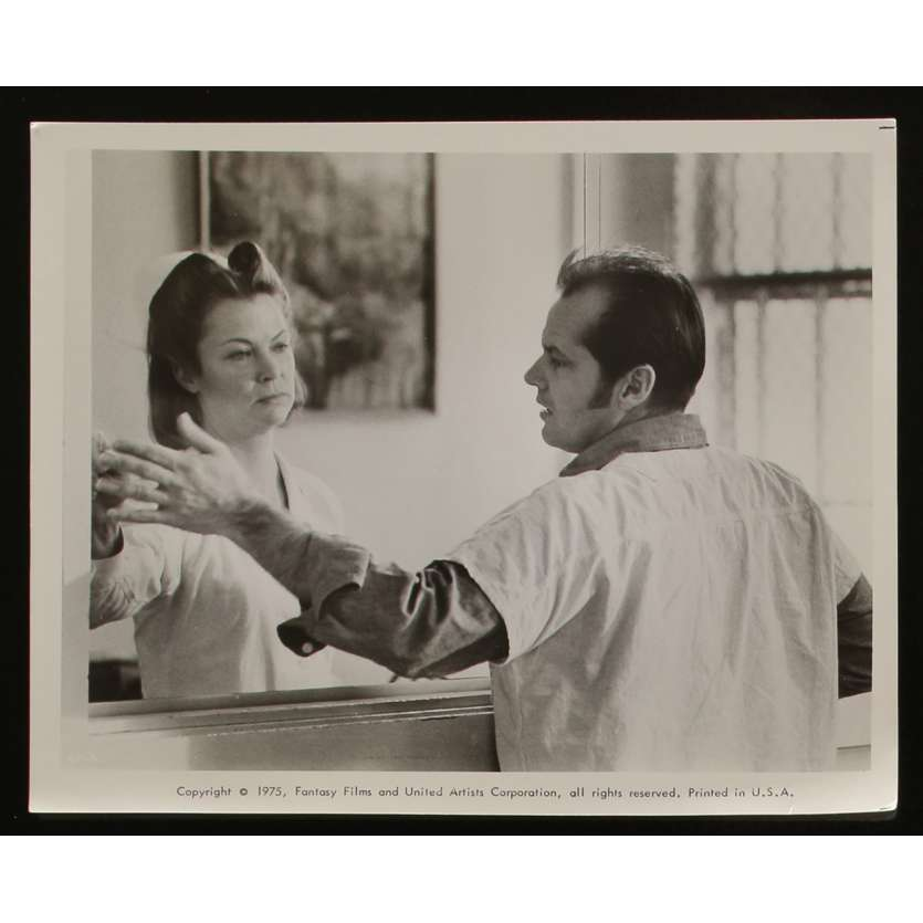 ONE FLEW OVER THE CUCKOO'S NEST US Movie Still N3 8x10 - 1975 - Milos Forman, Jack Nicholson