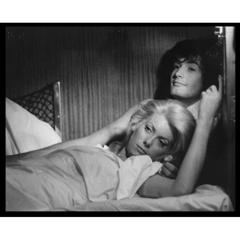 LA CHAMADE Photo de presse N6 20x25 - 1968 - Catherine Deneuve, Françoise Sagan