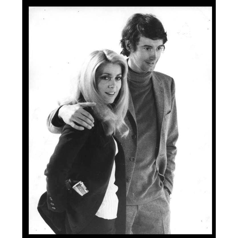 LA CHAMADE Photo de presse N9 20x25 - 1968 - Catherine Deneuve, Françoise Sagan