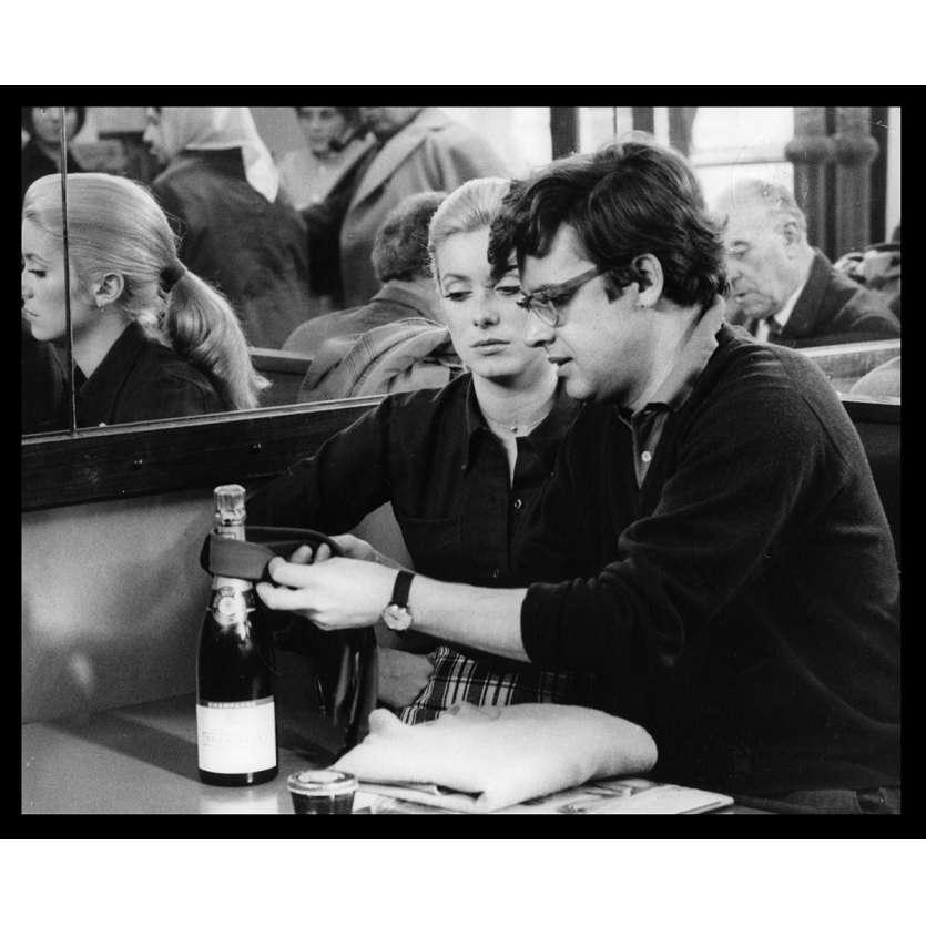 LA CHAMADE Photo de presse N20 20x25 - 1968 - Catherine Deneuve, Françoise Sagan