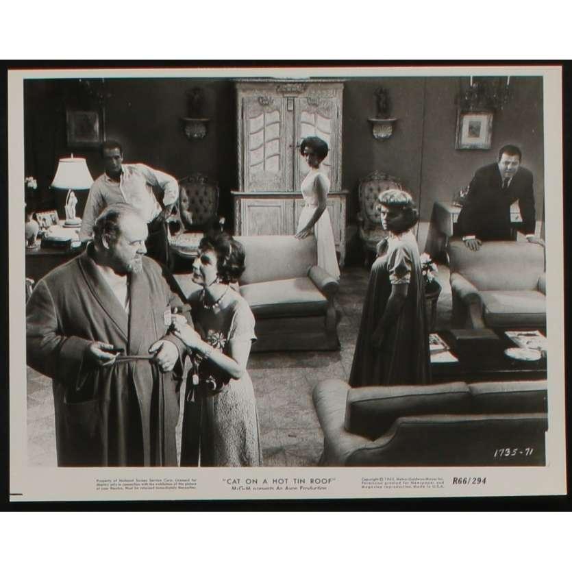 LA CHATTE SUR LE TOIT BRULANT Photo de presse N2 20x25 - 1966 - Paul Newman, Liz Taylor, Richard Brooks