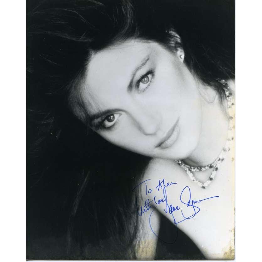 JANE SEYMOUR Photo Signée 20x25 - 1970'S - ,