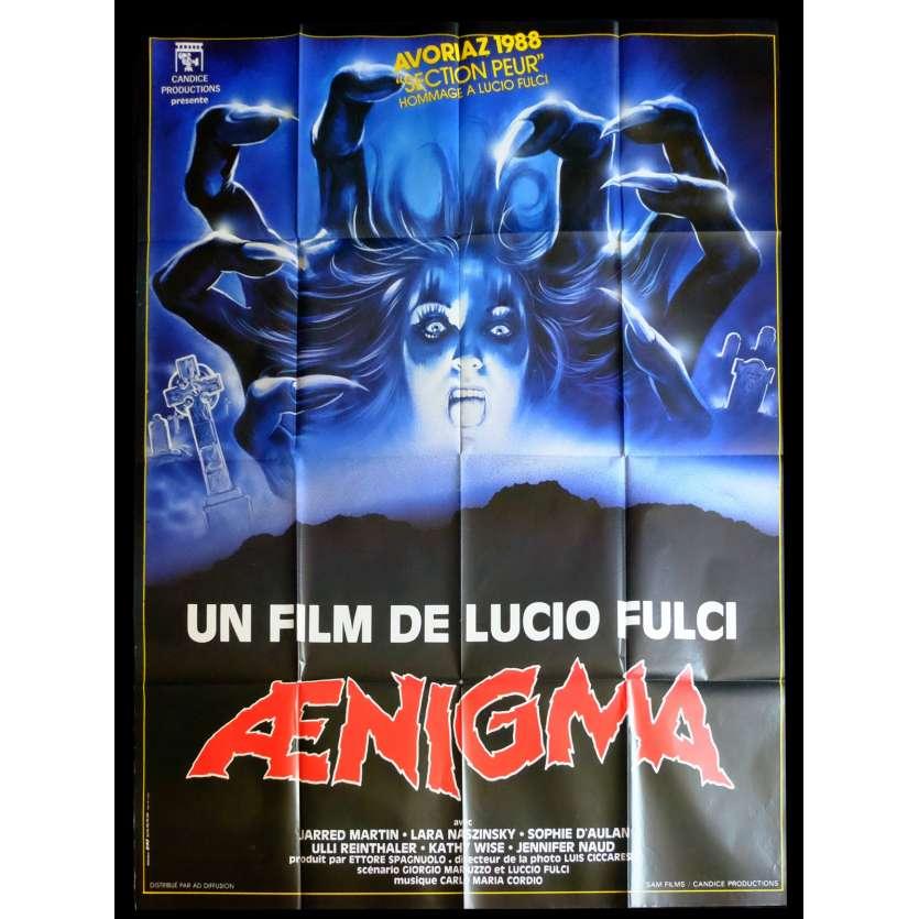 AENIGMA French Movie Poster 47x63 - 1987 - Lucio Fulci, Jared Martin