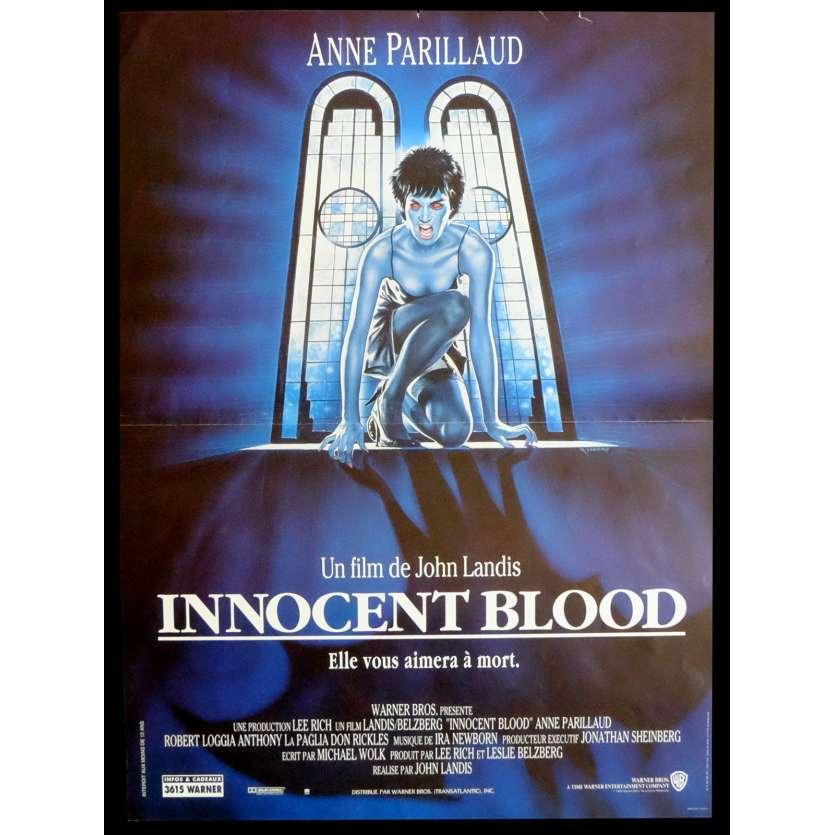 INNOCENT BLOOD Affiche de film 40x60 - 1992 - Anne Parillaud, John Landis