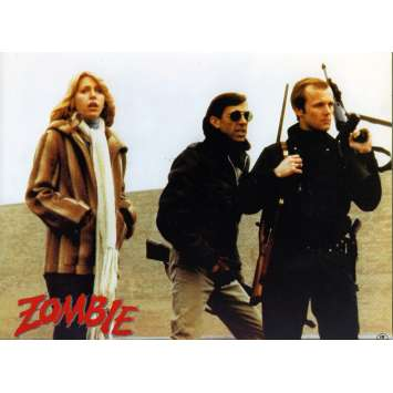 DAWN OF THE DEAD German Lobby Card N3 8x12 - 1979 - George A. Romero, Ken Foree