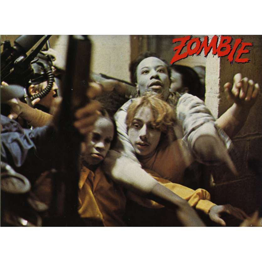 DAWN OF THE DEAD German Lobby Card N11 8x12 - 1979 - George A. Romero, Ken Foree