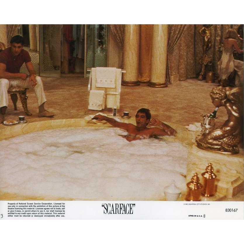SCARFACE US Lobby Card N3 8x10 - 1983 - Brian de Palma, Al Pacino