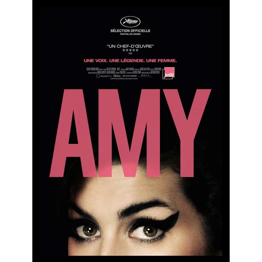AMY Affiche de film 40x60 - 2015 - Amy Winehouse, Asif Kapadia
