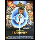 LABYRINTH German Movie Poster   - 1986 - Jim Henson, David Bowie