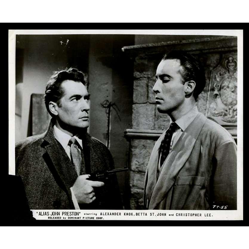 ALIAS JOHN PRESTON Photo de presse 20x25 - 1955 - Christopher Lee, David Macdonald