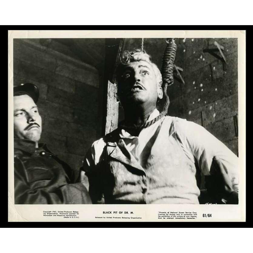 BLACK PIT OF DR. M US Movie Still 8X10 - 1961 - Fernando Mendez, Gaston Santos
