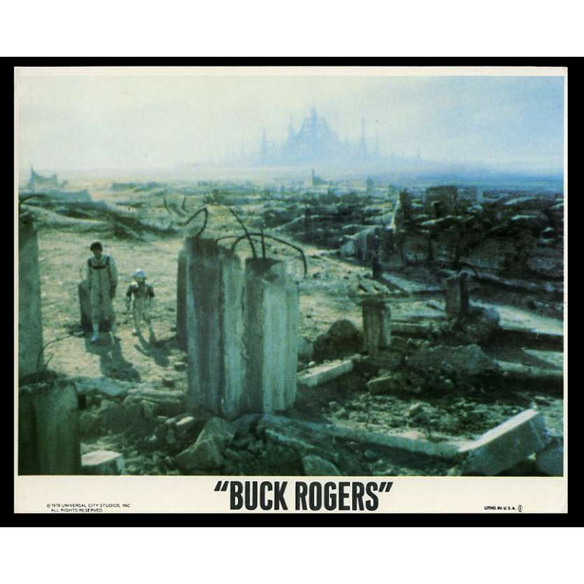 BUCK ROGERS US Lobby Card 8X10 - 1978 - Daniel Haller, Gil Gérard