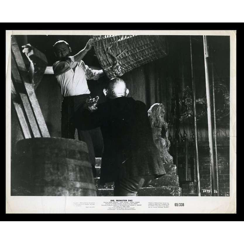 LE MESSAGER DU DIABLE Photo de presse 20x25 - 1965 - Daniel Haller, Boris Karloff
