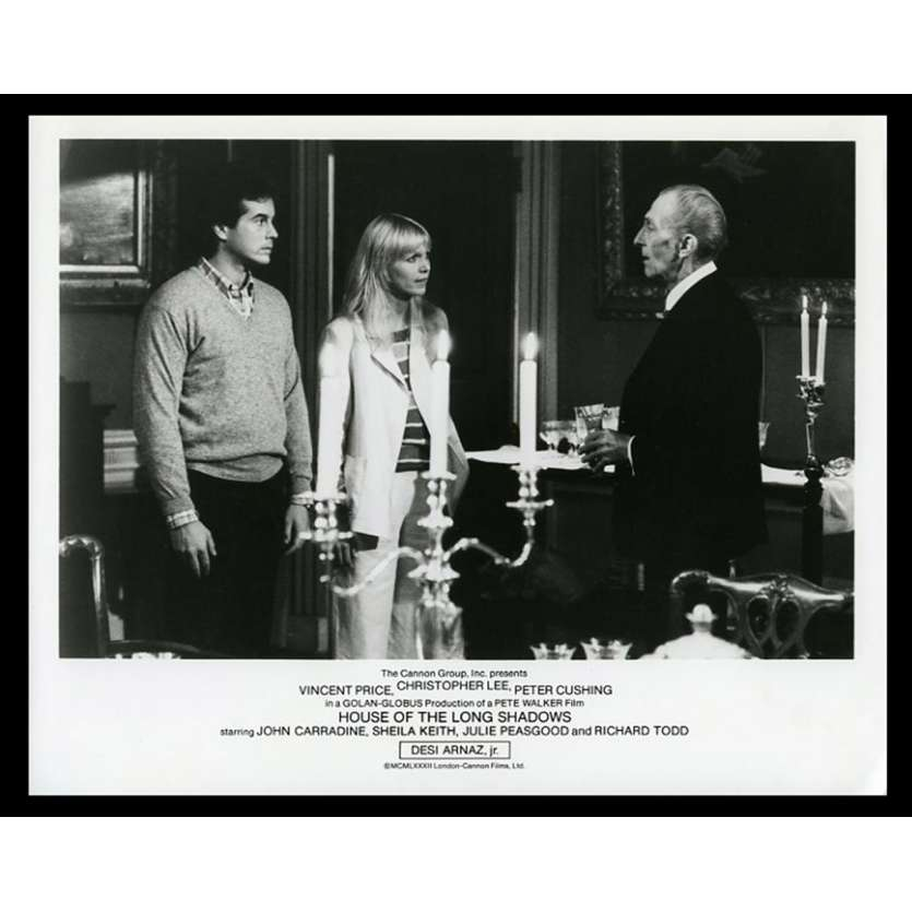 HOUSE OF THE LONG SHADOWS US Movie Still 8X10 - 1972 - Vincent Price, Christopher Lee, Peter Cushing