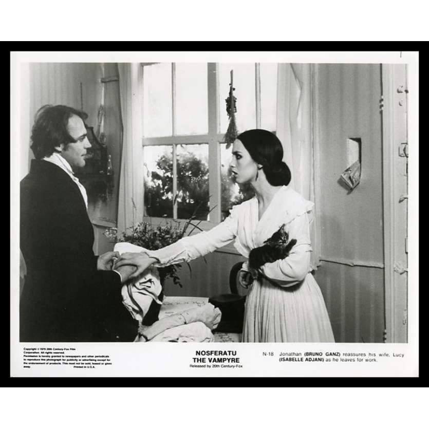 NOSFERATU THE VAMPIRE US Movie Still 8X10 - 1979 - Werner Herzog, Klaus Kinski, Isabelle Adjani
