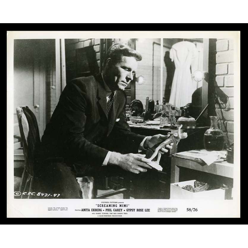 SCREAMING MIMI US Movie Still 8X10 - 1958 - gerd Oswald, Anita Ekerg
