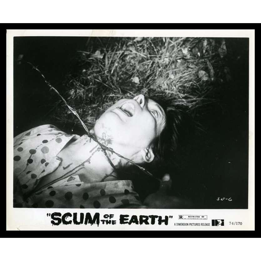 SCUM OF THE EARTH Photo de presse 20x25 - 1974 - Gene Ross, S.F. Brownrigg