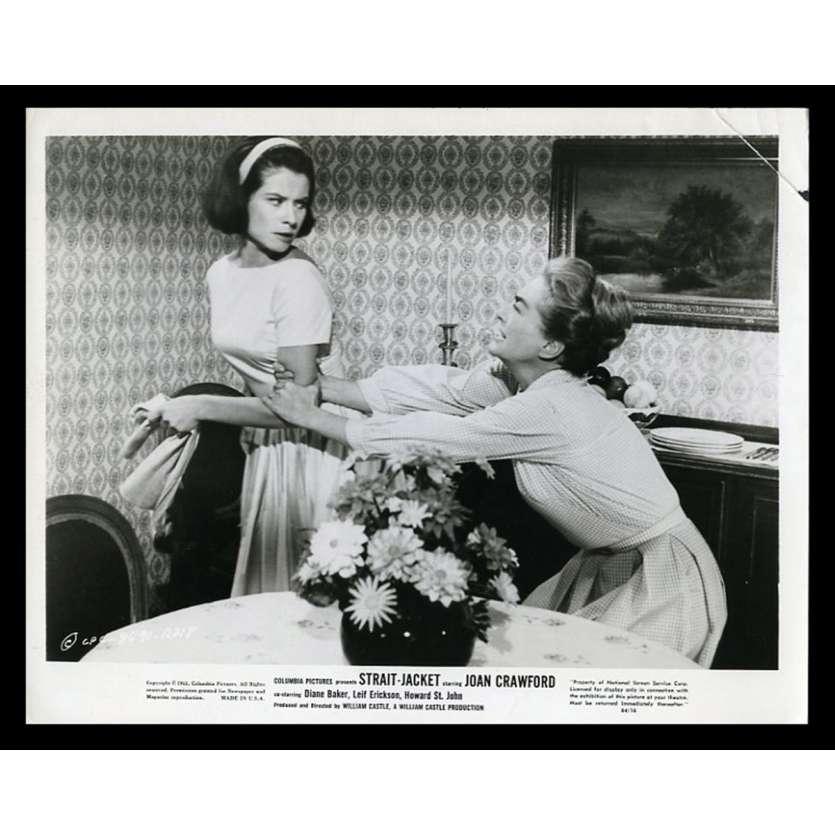 STRAIGHT JACKET Photo de presse 20x25 - 1963 - Joan Crawford, William Castle