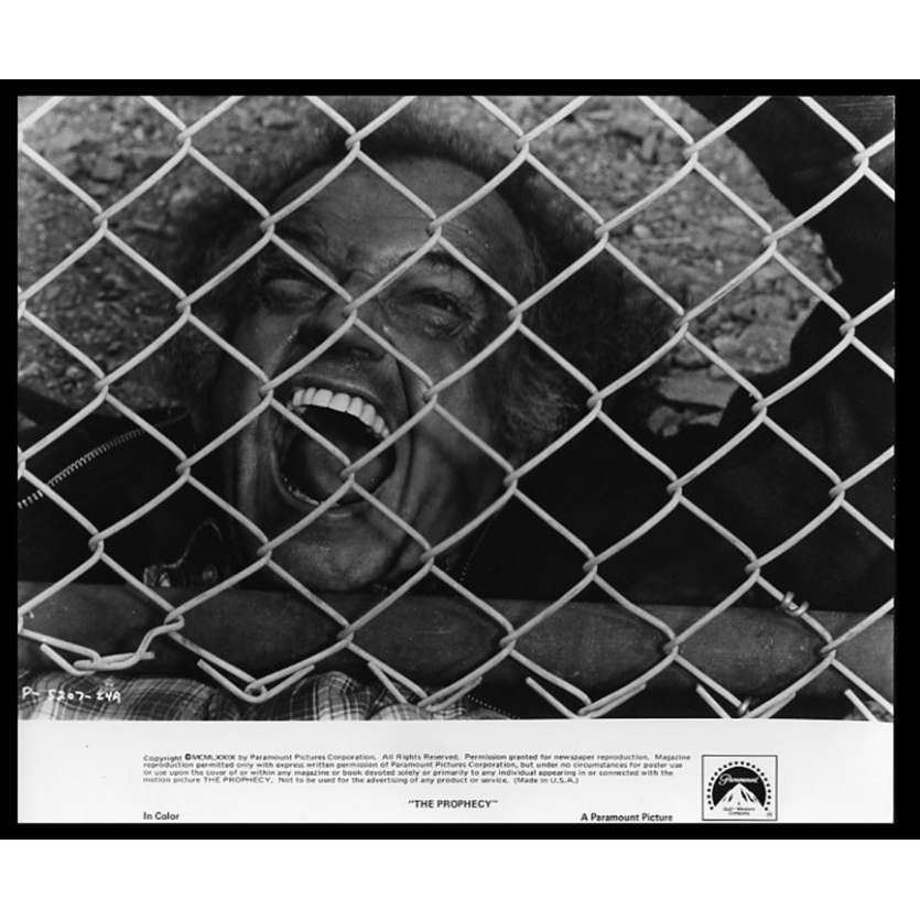 PROPHECY Photo de presse 20x25 - 1979 - Talia Shire, John Frankenheimer