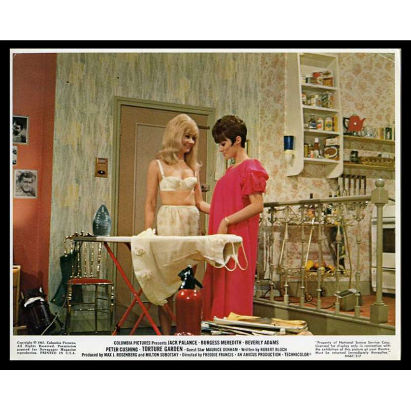 TORTURE GARDEN US Lobby Card 8X10 - 1967 - Freddie Francis, Peter Cushing