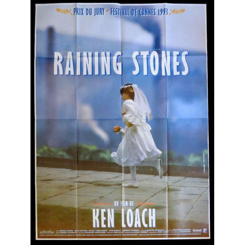 RAINING STONES French Movie Poster 47x63 - 1993 - Ken Loach, Bruce Jones