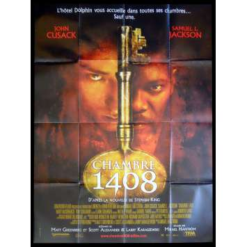 CHAMBRE 1408 Affiche de film 120x160 - 2007 - John Cusak, Stephen King