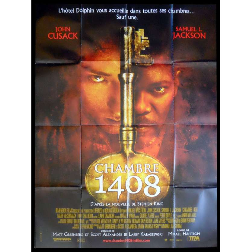 ROOM 1408 French Movie Poster 47x63 - 2007 - Stephen King, John Cusak