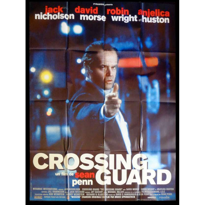 CROSSING GUARD French Movie Poster 47x63 - 1995 - Excellent état (C8), Excellent (C8)