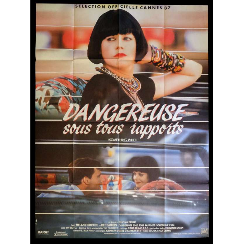 SOMETHING WILD French Movie Poster 47x63 - 1986 - Jonathan Demme, Melanie Griffith