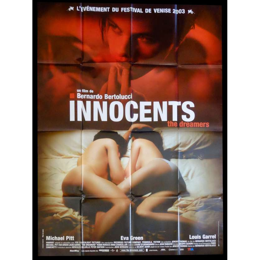INNOCENTS Affiche de film 120x160 - 2003 - Eva Green, Bernardo Bertolucci
