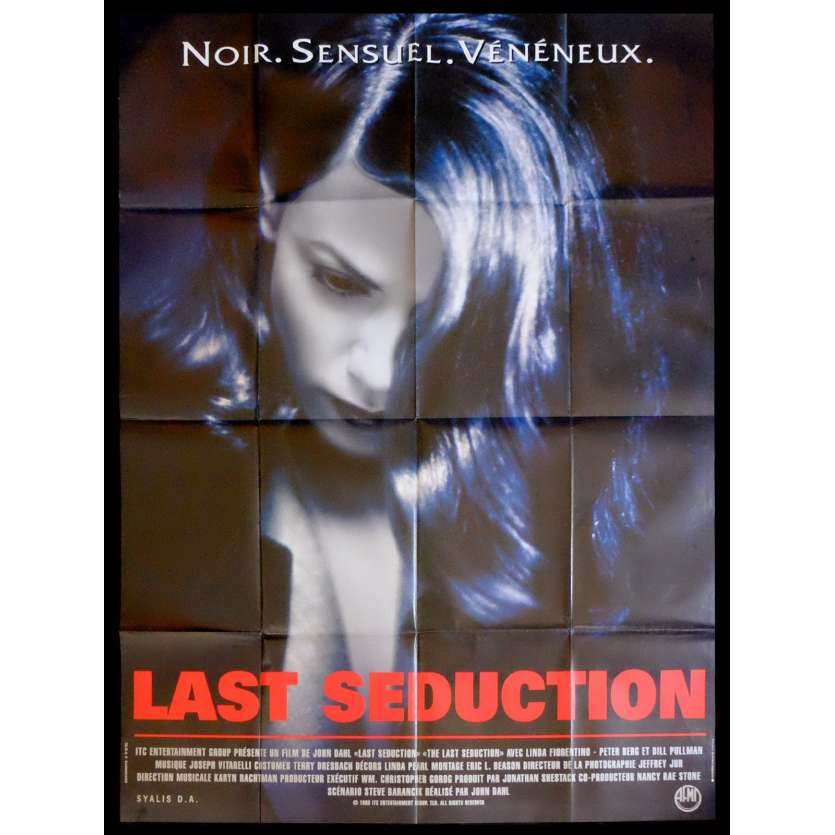LAST SEDUCTION French Movie Poster 47x63 - 1994 - John Dahl, Linda Fiorentino