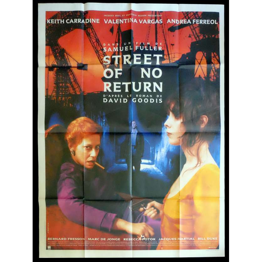 STREET OF NO RETURN French Movie Poster 47x63 - 1989 - Samuel Fuller, Keith Carradine