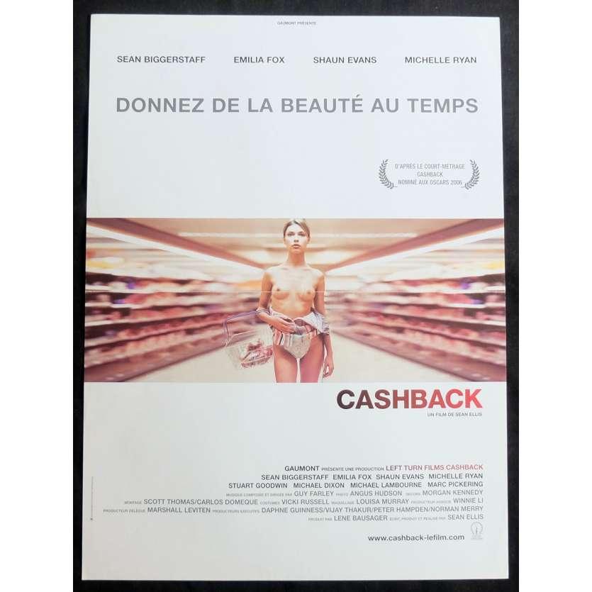CASHBACK Affiche de film 40x60 - 2006 - Emilia Fox, Sean Ellis