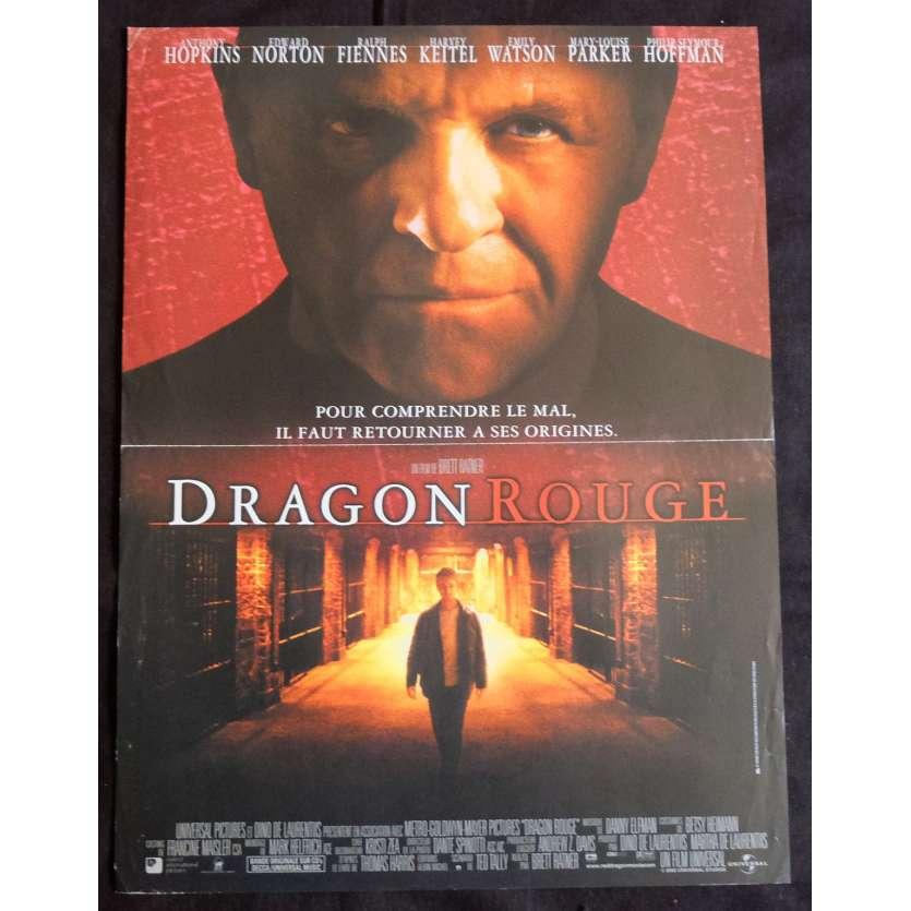DRAGON ROUGE Affiche de film 40x60 - 2002 - Anthony Hopkins, Brett Ratner