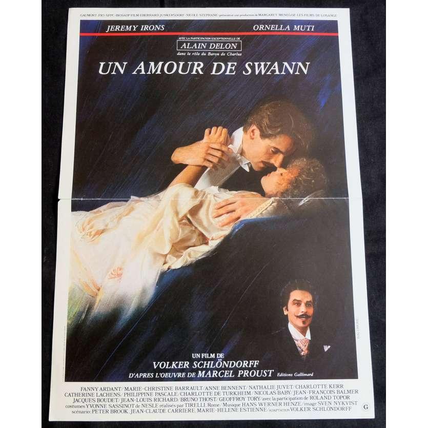SWANN IN LOVE French Movie Poster 15x21 - 1984 - Volker Schlöndorff, Jeremy Irons