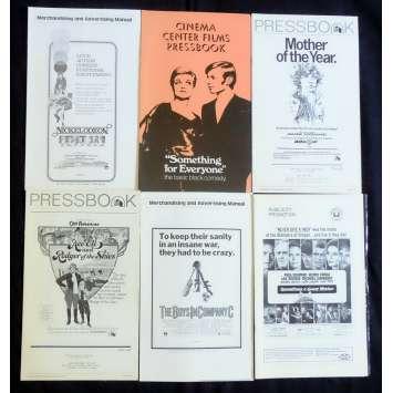 LOT 4 US Pressbook lot 11x15 - 1970's - Sidney J Furie, Paul Newman, Henry Fonda
