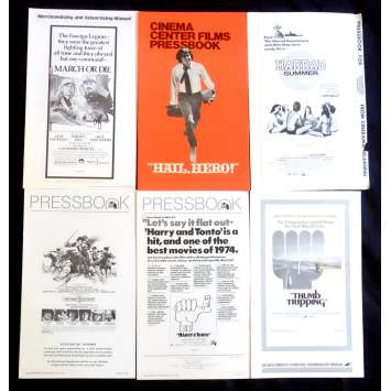 LOT 6 US Pressbook lot 11x15 - 1970's - Richard Lester, Gene Hackman, Terence Hill