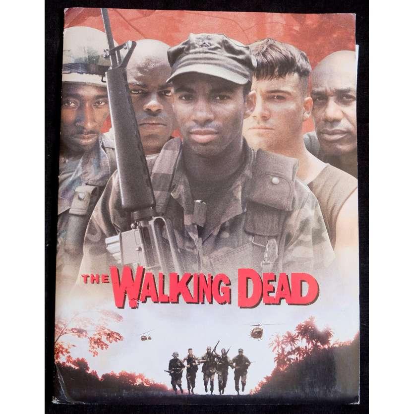 THE WALKING DEAD French Pressbook 20p, 11 Slides, 9 Stills 8x11 - 1995 - Preston A. Whitmore II, Allen Payne