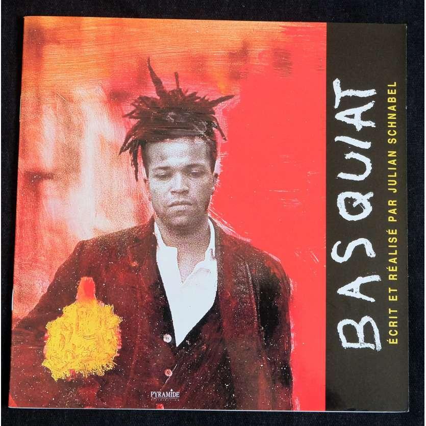 BASQUIAT French Pressbook 16p 8x8 - 1996 - Julian Schnabel, David Bowie